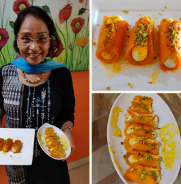 Stuffed Mango Sandesh Recipe