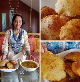 Bedmi Poori | Urad Dal Puri Recipe