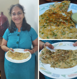 Rava Dosa | Sooji Dosa Recipe