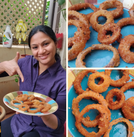 Onion Rings | Crispy Onion Rings Recipe
