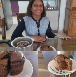 Chocolate Cake | Chocolate Cake in Pressure Cooker Recipe