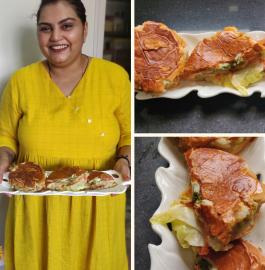 Aloo Tikki Burger | Veg Burger Recipe