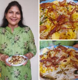 Zafrani Pulav | Hyderabadi Zafrani Pulao Recipe