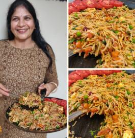 Tawa Pulao | Pav Bhaji Pulao Recipe
