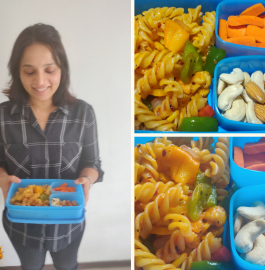 Tiffin snack recipe | Vegetable Pasta Recipe