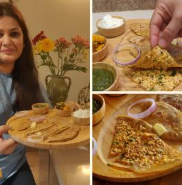 Paneer Paratha | Punjabi Paneer Paratha Recipe