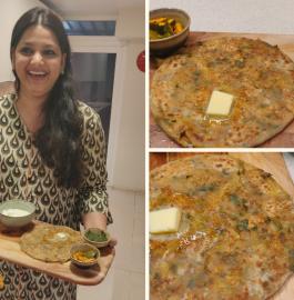 Aloo Paratha | Dhaba Style Aloo Paratha Recipe