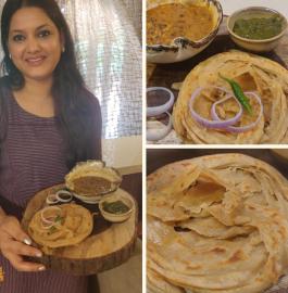 Laccha Paratha | Lachha Paratha Recipe