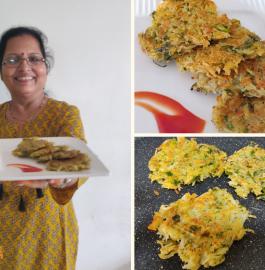 Aloo Pancake | Potato Pancake Recipe