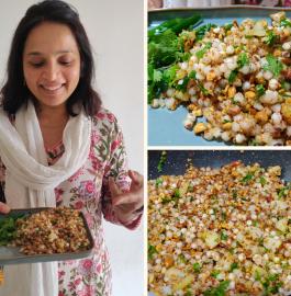 Sabudana Khichdi | Non-Sticky Sabudana Khichdi Recipe