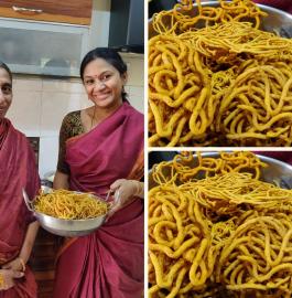 Besan Murukku | Kharaloo | Khara Recipe