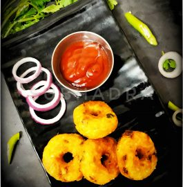 Rice Vada | Leftover Rice Vada Recipe