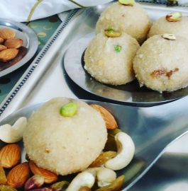 Sooji Coconut Laddu | Semolina Coconut Laddu Recipe