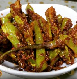 Hari Mirch Fry | Masaledaar Chatpati Mirchi Recipe
