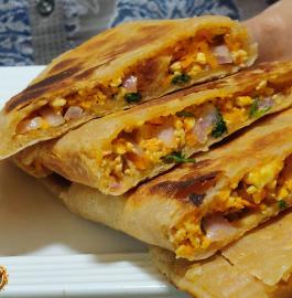 Paneer Paratha | Paneer Lifafa Paratha Recipe