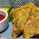 Sprouts Toast | Oats Sprouts Toast Recipe