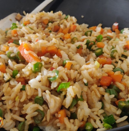 Veg Fried Rice | Chinese Fried Rice Recipe
