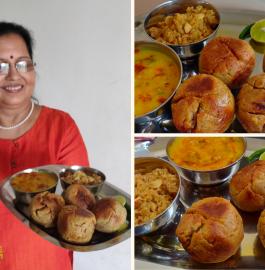 Dal Baati Churma | Rajasthani Dal Bati Choorma Recipe