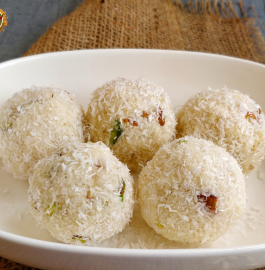 Coconut Ladoo | Nariyal Ladoo | Instant Coconut Ladoo Recipe