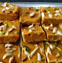 Mohanthal | Turat Mohanthal | Besan Burfi Recipe