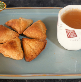 Mini Dry Samosa | Baked Mini Samosa Recipe