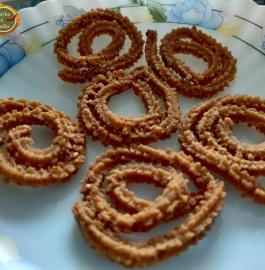 Chakli | Aate Ki Chakli Recipe