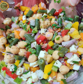 Chickpea Salad | Detox Weight Loss Salad Recipe
