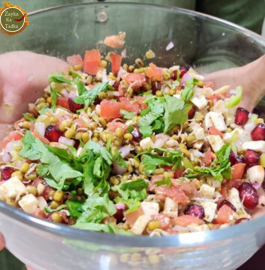 Sprouts Salad | Detox Weight Loss Salad Recipe