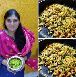 Kanda Poha | Maharashtrian Poha Recipe