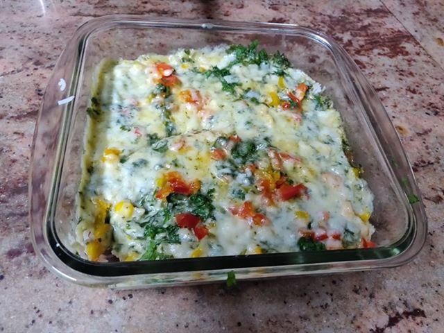 Cheese Sauce Rice Recipe