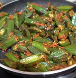 Achari Bhindi | Achari Okra Recipe