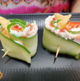 Cucumber Roll Ups Recipe