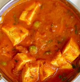 Matar Paneer | Restaurant Style Matar Paneer Recipe