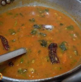 Bhindi Sambar | Okra Sambar Recipe
