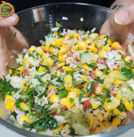 Corn Cheese Salad | Detox Weight Loss Salad Recipe
