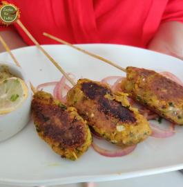 Veg Seekh Kabab Recipe