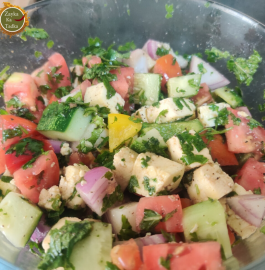 Paneer Salad | Detox Weight Loss Salad Recipe