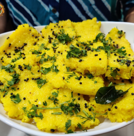 Sweet Corn Dhokla Recipe