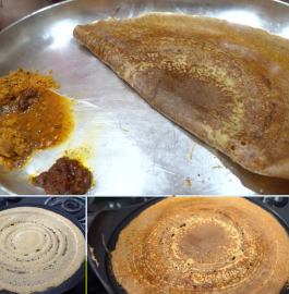 Pesarattu | Moong Dal Dosa Recipe