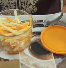 Kacchi Haldi Achar | Fresh Turmeric Pickle Recipe