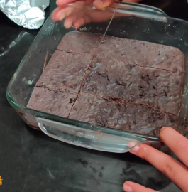 Eggless Chocolate Fudge Recipe