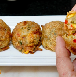 Cheese Balls | Crispy Cheese Balls in Air Fryer Recipe