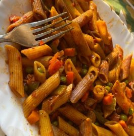 Schezwan Pasta | Desi Schezwan Pasta Recipe