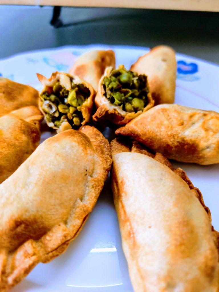 Green Peas Ghughra Recipe