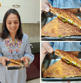 Tiffin Snack Recipe | Cheese Chilli Sandwich
