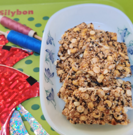 Til Mungfali Chikki | Mixed Nuts Chikki Recipe