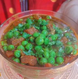 Hare Matar Tamatar Ki Sabzi Recipe