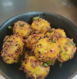 Achari Aloo | Aloo Achari Recipe
