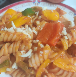 Mix Veg Pasta Recipe