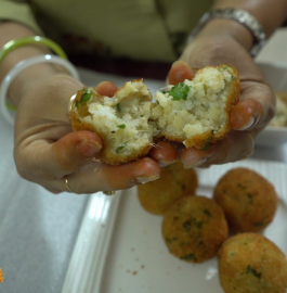 Cheese Macaroni Balls Recipe